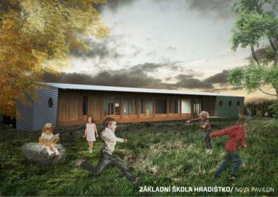 2014 Přístavba školy Hradištko